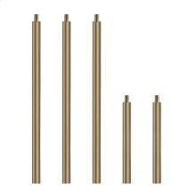 """Spare Part 3 Pcs 12"""" and 2 Pcs 6"""" Pipes"""
