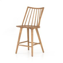 Counter Stool Size Sandy Oak Finish Lewis Windsor Bar + Counter Stool