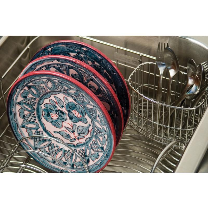 """Additional Elkay Stainless Steel 3-1/2"""" x 5-1/8"""" x 4-3/8"""" Utensil Caddy"""