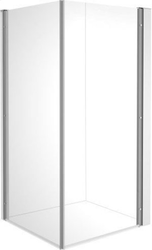 Null Openspace B Shower Screen, Faucet Right Product Image
