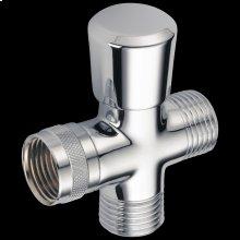 Chrome 3-Way Shower Arm Diverter for Hand Shower