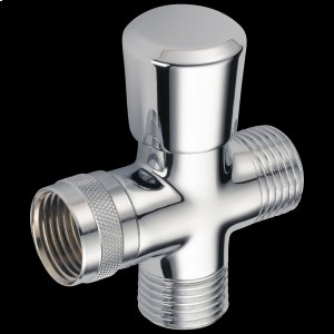 Chrome 3-Way Shower Arm Diverter for Hand Shower Product Image