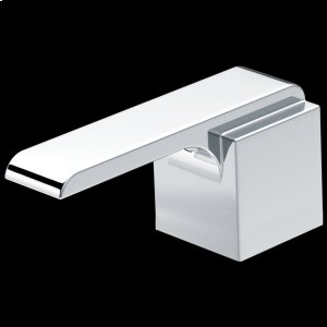 Chrome Metal Lever Handle Set Product Image