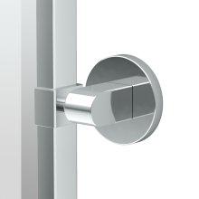 Zone Framed Oval Mirror in Chrome