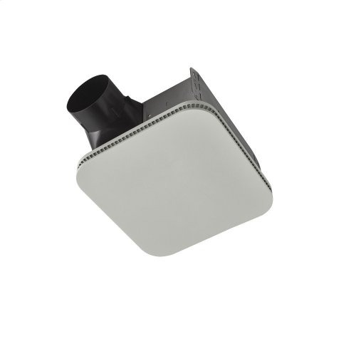 Flex Series 80 CFM Ceiling Bathroom Exhaust Fan with CleanCover grille, ENERGY STAR® certified