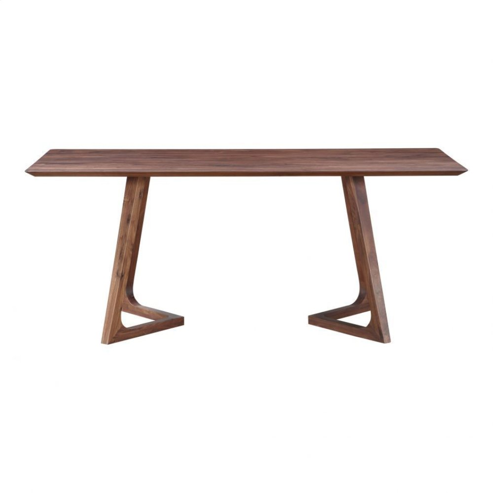 Godenza Dining Table Rectangular Walnut
