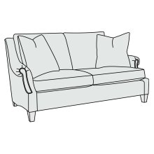 Martin Loveseat in Mocha (751)