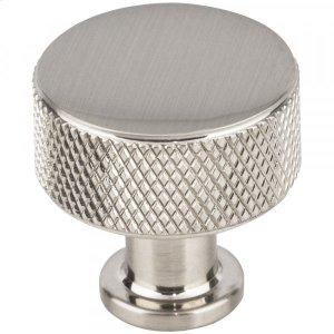Beliza Cylinder Knurled Knob 15/16 Inch Brushed Satin Nickel Product Image