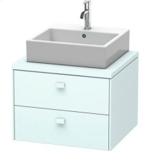 Brioso Vanity Unit For Console, Light Blue Matte (decor)