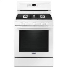 30-Inch Wide Gas Range With True Convection And Power Preheat - 5.8 Cu. Ft. White