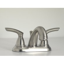 Britani Collection Centerset Faucet in Polished Chrome