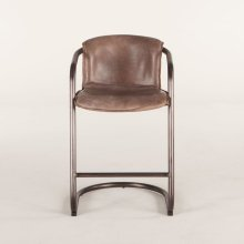 Portofino Counter Chair Jet Brown