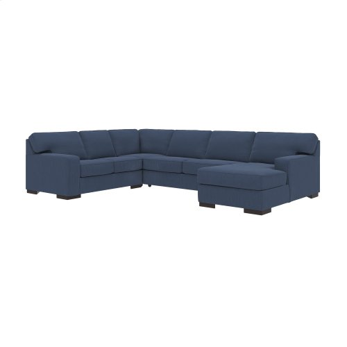Ashlor Nuvella® - Indigo 2 Piece Sectional