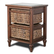 2-Basket Storage Cabinet