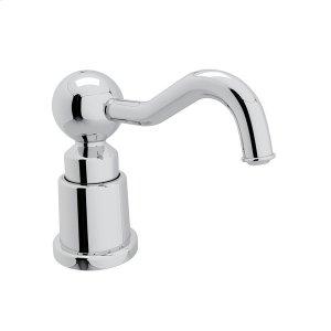 Polished Chrome Italian Soap/Lotion Dispenser Product Image