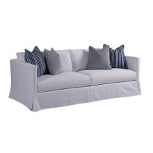 Marina Slipcover Sofa - White