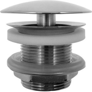Chrome Accessories Slotted Waste