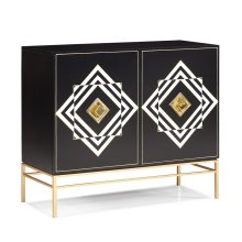 Aimee Hall Chest - Gold