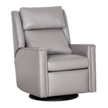 Manual Push Back Swivel Glider Recliner