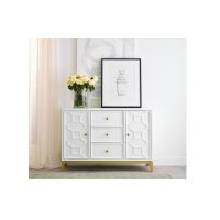 Chelsea by Rachael Ray Credenza w/ Lattice Product Image