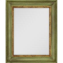 Brushed Green Mirror