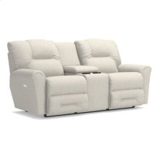 Easton Power Reclining Loveseat w/ Console