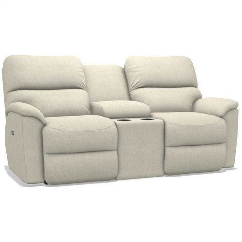 Brooks Power Reclining Loveseat w/ Console