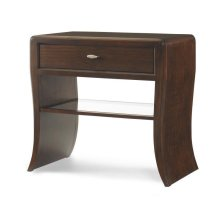 Paragon Club Waterfall Nightstand