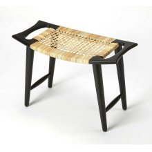 Perfect in an indoor arrangement, this versatile stool is a compact accent that serves as an impromptu seat in any space. This handmade piece features rattan seat and solid Mango wood frame which sports a beautiful finish that complements an array of diff