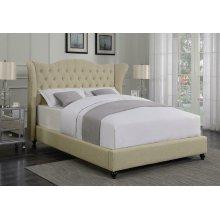 Coronado Beige Upholstered California King Bed