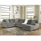 Loric - Smoke 3 Piece Sectional Product Image