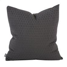 "20"" x 20"" Pillow Deco Pewter"