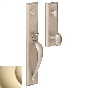 Lifetime Polished Brass Cody Full Handleset Product Image