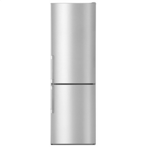 Bottom-Mount Refrigerator 24-inches wide - Fingerprint Resistant Stainless Steel