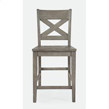 Outer Banks X-back Stool - Driftwood