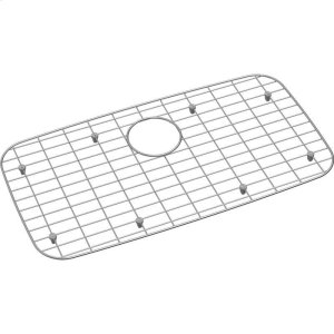 "Dayton Stainless Steel 26-1/8"" x 13-15/16"" x 1"" Bottom Grid Product Image"