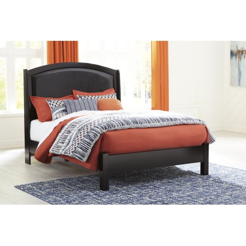Minota - Merlot 2 Piece Bed Set (Queen)