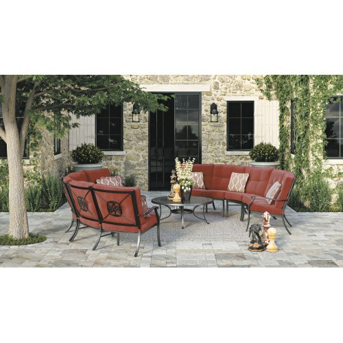 Burnella - Brown 3 Piece Patio Set