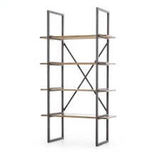 Shane Single Bookshelf-antique