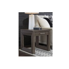 Facets Square End Table