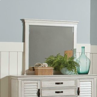 Franco Antique White Mirror
