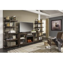 Starmore - Brown/Gunmetal 4 Piece Entertainment Set