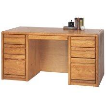 """60"""" Double Pedestal Desk"""