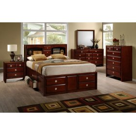 Beverley King Storage Bed