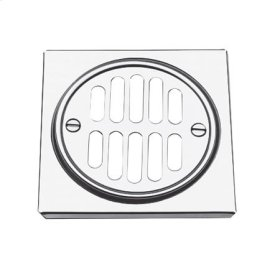 Flat Black Shower Drain Trim Set
