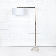 Hartford Floor Lamp-patina Brass