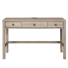 Kids 3 Drawer USB Charging Desk in River Birch Brown