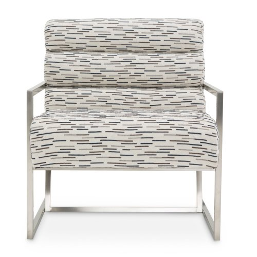 Marina Channel Back Chair Rdr Brushedsilver