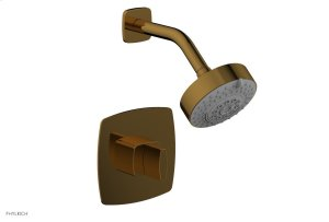RADI Pressure Balance Shower Set - Blade Handle 181-21 - French Brass Product Image