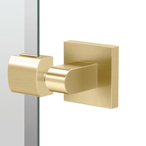 Elevate Rectangle Mirror - Solid Brass in Brushed Brass Product Image